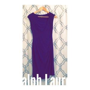 Lauren Body Con Stretch Dress Size 4